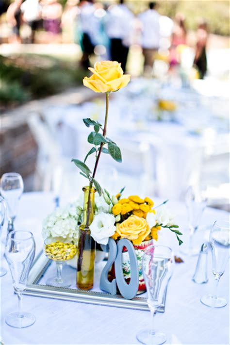 wedding table centrepiece ideas no flowers centerpieces no candle or flowers weddingbee