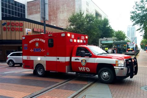 map of houston fire department stations houston fire dept chevy silverado ambulance in downtown h flickr