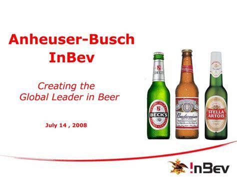 Global Mba Program At Anheuser Busch Inbev by Slide