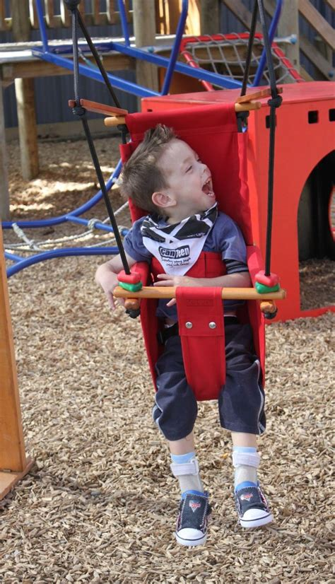swing for disabled child 92 best images about accessible play on pinterest