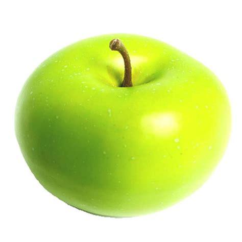 decorative fake apples artificial green apple decorative plastic fake fruit