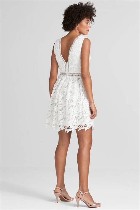 Dress Malina 02 by malina alessia mini dress vit dam ellos se