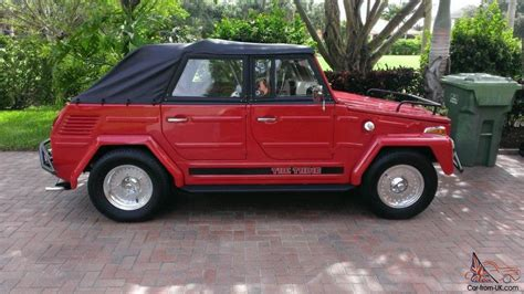 volkswagen type 181 1973 vw type 181 quot thing quot all dressed up and ready to enjoy