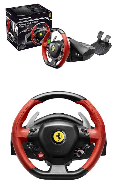 Ferrari 458 Spider Xbox One by Thrustmaster Ferrari 458 Spider Racing Wheel For Xbox One