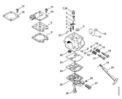 stihl chainsaw carburetor diagram stihl 028 av chainsaw diagram stihl free engine image