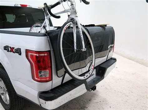 swagman tailwhip tailgate pad and bike rack for size