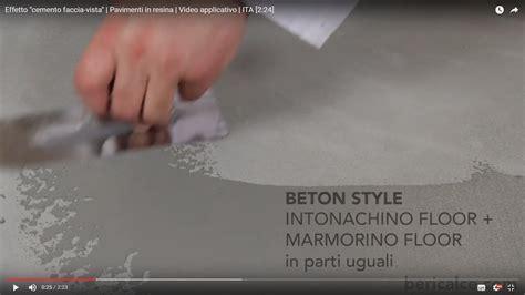 pavimenti resina fai da te pavimento in cemento fai da te