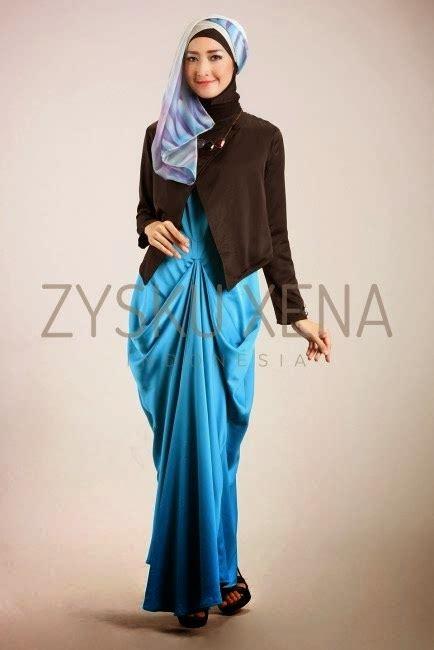 Baju Isyana Dress 2 Mc koleksi baju muslim zysku xena terbaik dan terbaru