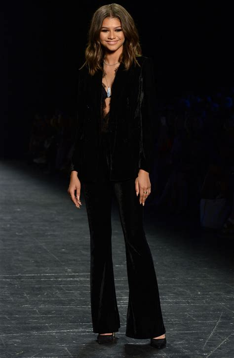 Fashion Week Day 9 by Zendaya Coleman Project Runway Fashion Show New York