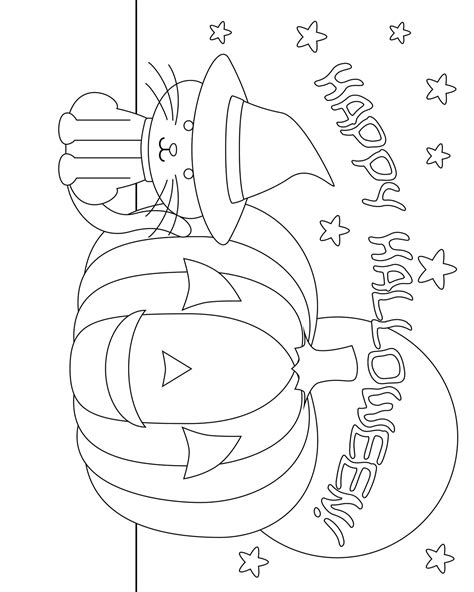 pumpkin themed coloring pages 8 images of owl and pumpkin coloring page dover