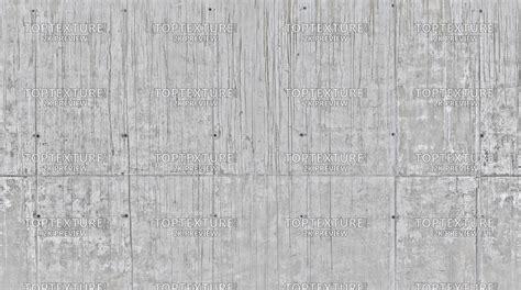 Dark Leaking Grunge on Light Concrete Wall Slab   Top Texture