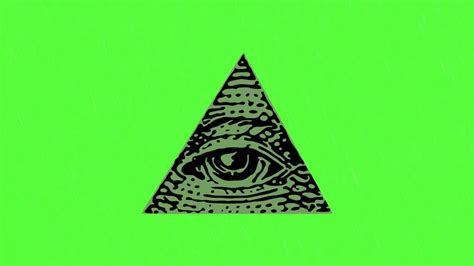 illuminati logo illuminati logo green screen