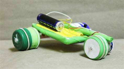 how to make a paper car that can move electric