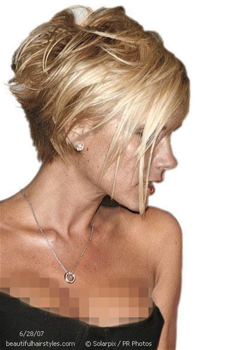 victoria beckham short hairstyles back and front trying to decide if i am brave enough to go this short in