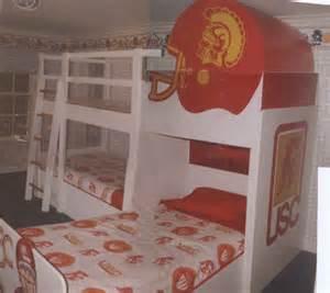 Boys Bedroom Designs football bunk beds