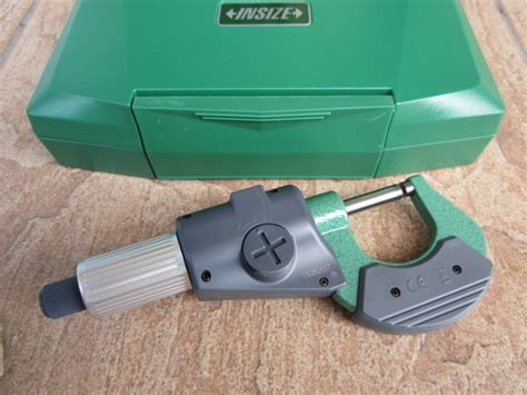 Insize Micrometer 0 25 insize 0 25mm 0 1 quot digital outside micrometer my power tools