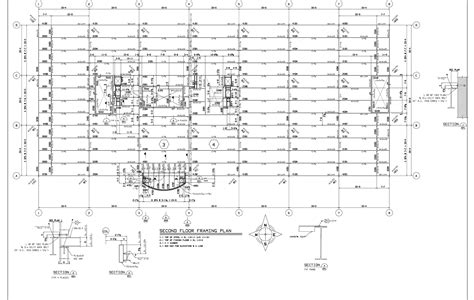 floor framing plans drawings second floor framing plan jpg