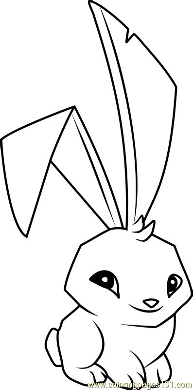 coloring pages of animal jam bunny animal jam coloring page free animal jam coloring