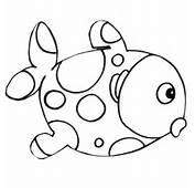 Dibujo De Peces  Dibujos Para Colorear