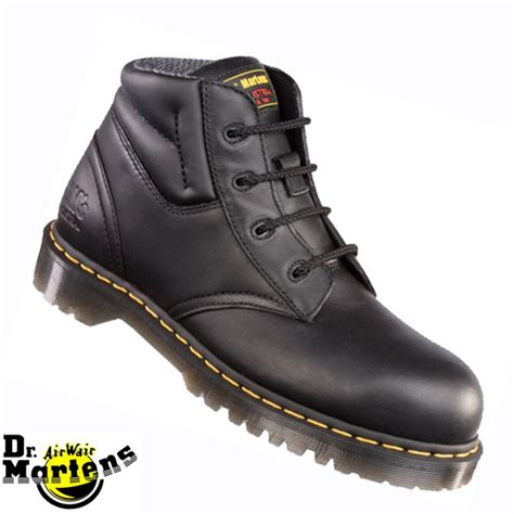 dr martens icon black safety boot 6632
