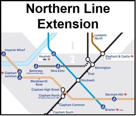 tube map 2015 northern line image gallery northern line extension