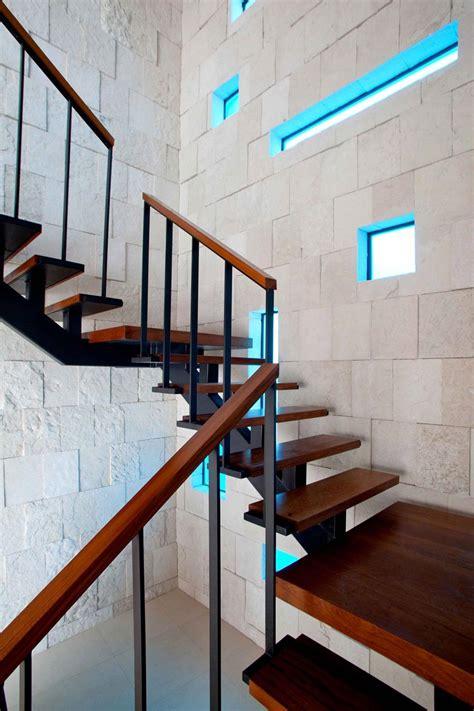 Coastal Homes Plans dark stairs odd windows bonaire house netherlands antilles