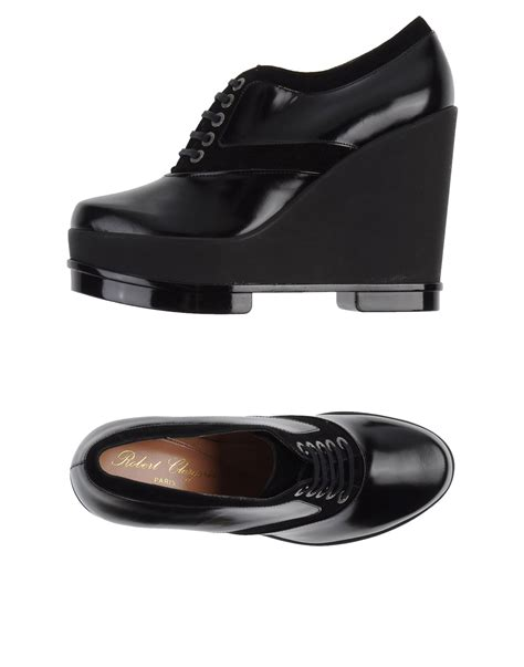 Nancy 03 Marc Stuart Shoes robert clergerie laceup shoes in black lyst