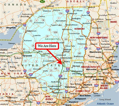 map of upstate new york conti appraisal about