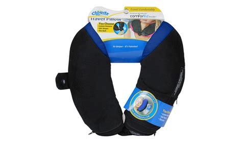 cloudz adjustable travel pillow groupon