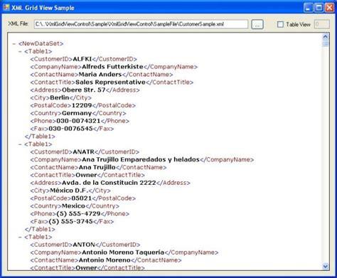free template xml datagrid xml file c free atomblogs