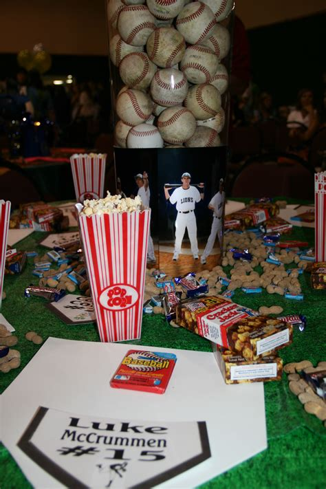 baseball themed decorating ideas baseball theme table decor sports themed bar mitzvahs
