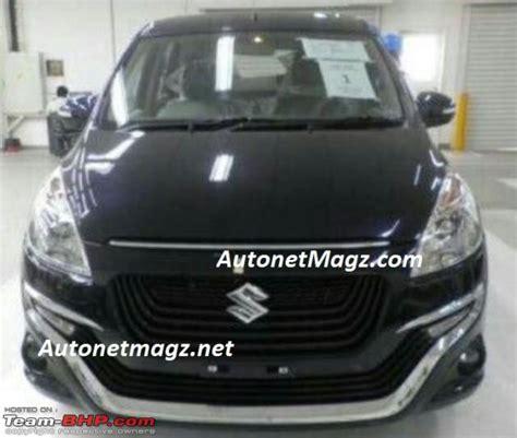 New Suzuki Ertiga Garnis Depan Jsl Chrome L Garnish Exclusive team bhp maruti ertiga official review
