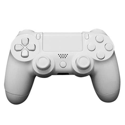 475094 the captain playstation dualshock 4 custom controller white on white