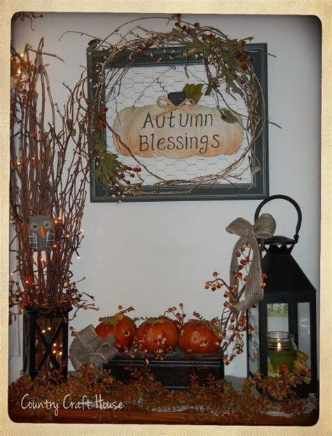 fall country decor fall decor by country craft house fall ideas