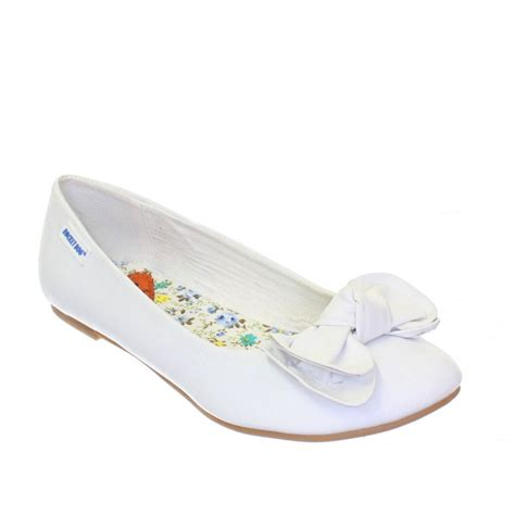 white flat shoes for womens rocket vera white flat ballerina ballet pumps