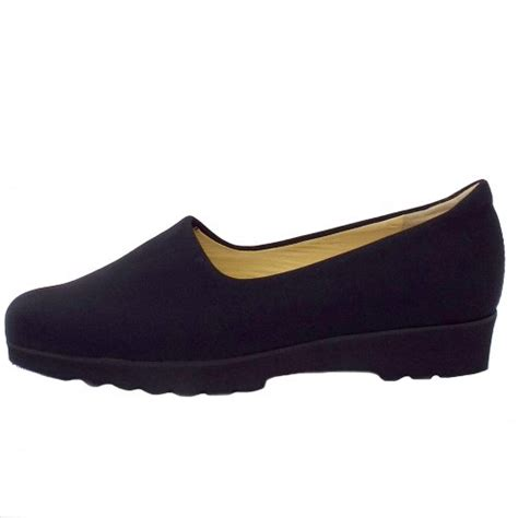 black comfortable shoes peter kaiser ronda ladies comfortable wide fit shoes in
