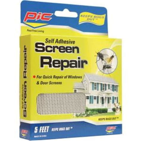 pic 5 ft screen repair 2 packs 814103023350 the home