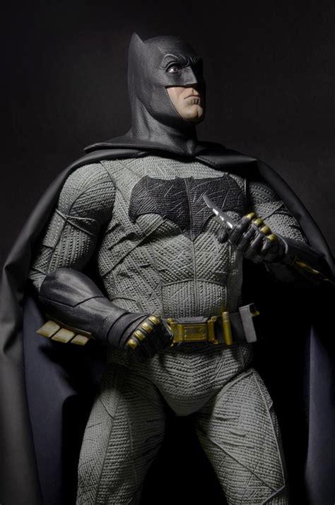 Figure Batman Set 4 batman v superman of justice 1 4 scale figure batman necaonline