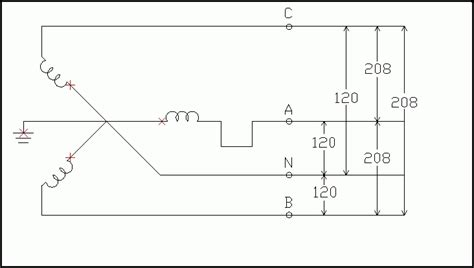 single phase 208 wiring diagram wiring diagram and