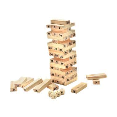 Mainan Wooden Uno Stacko jual jenga mainan terbaru harga murah blibli