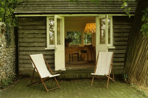 The Writing Shed by The Lodge Writing Shed In The Garden At Monk S House The