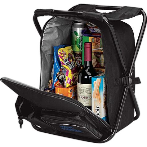 Backpack C Stool Cooler by This Cooler Bag Is Also A Backpack With Padded Straps Has