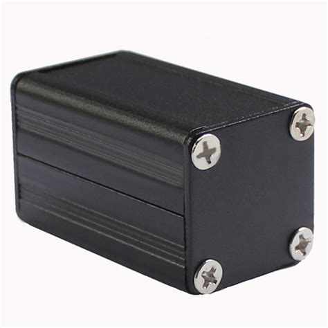 split box aluminum enclosure project junction box 25 25 40mm diy for pcb circuit board split box in