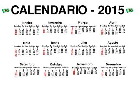Calendario N 2015 Imagem Calendario 2015 Em Portugu 202 S