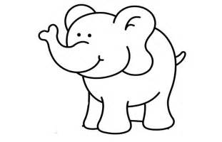Baby Elephant Template by Elephant Template Animal Templates Free Premium