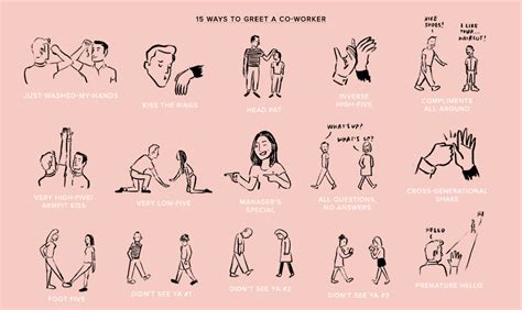 187 15 ways to greet a co workerwarby parker