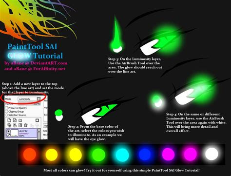 paint tool sai blending tutorial painttool sai glow tutorial by abane on deviantart