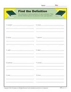 definition worksheets davezan