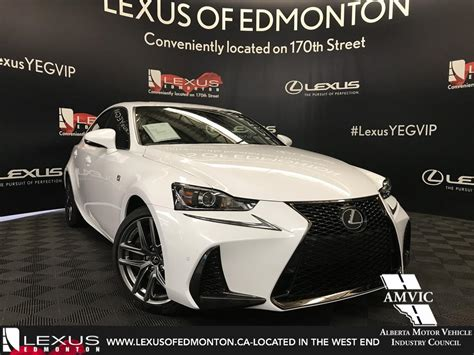 lexus sport car 4 door new 2018 lexus is 350 f sport series 3 4 door car in