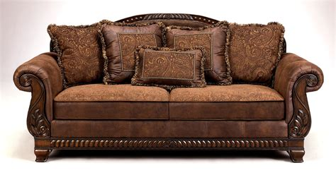 traditional furniture buy low price ivgstores furniture faux leather tapestry sofa ash 99527 furniture decor